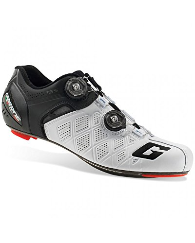 Gaerne Carbon G. Stilo+ Scarpe Road Ciclismo, White/Black - 43.5