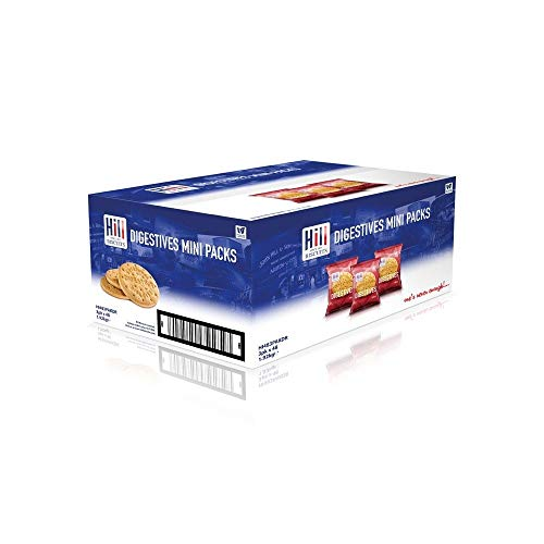 Hill Biscuits Digestive 3 Pack 48's – Ideal for Hotels & Conferences (3 Boxes)