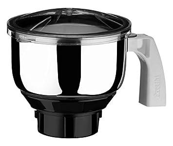 Preethi MGA 509 1 Litre Jar  Steel/Transparent