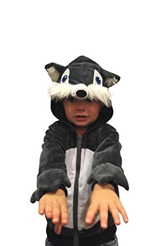 [Halloween Costumes Kids Wolf Costume Boys Sweatshirt Halloween Costume (2-4yr)] (Wolf Halloween Costumes)