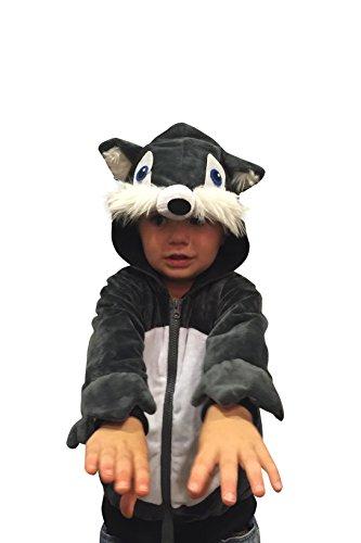 [Halloween Costumes Kids Wolf Costume Boys Sweatshirt Halloween Costume (18-24mo)] (Thug Life Halloween Costumes)