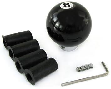 Carparts-Online 20444 T/ürpinne Kugel schwarze Acht 8