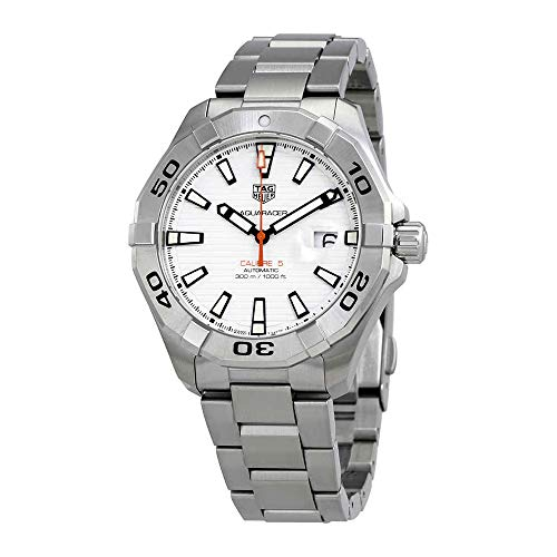 Tag Heuer Aquaracer White Dial Automatic Mens Stainless Steel Watch ()