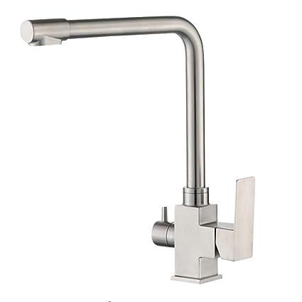 304 Acero inoxidable Agua Potable Grifo de la cocina Grifo ...