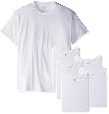 Hanes Men's FreshIQ Crew T-Shirt (Pack of 6)