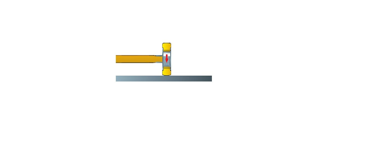 83238050 WIHA 26613 Martillo de cara blanda Safety de dureza media//duro 832-38 Safety 50 mm Ref