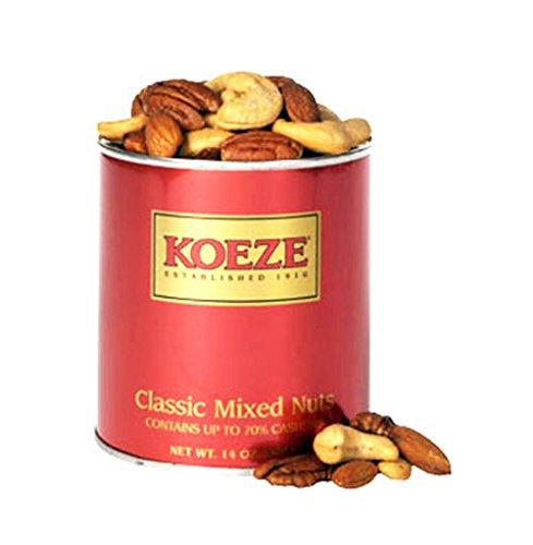 Classic Mixed Nuts - Classic Mixed Nuts 14 oz. Tin