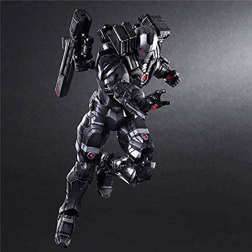 JINGLU Figura de Acción Iron Man 2da generación Gears of War 1/6 Juguetes Modelo Anime Souvenirs/Coleccionables/Manualidades Juguete Decoración de la Estatua 28CM: Amazon.es: Hogar
