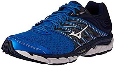 Mizuno Australia Men's Wave Paradox 5 Running Shoes, Directoire Blue/Silver/Dress Blues, 8 US