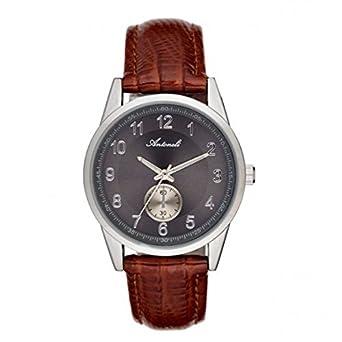 Armbanduhr antoneli Leder Silver 35 mm al1771 – 01