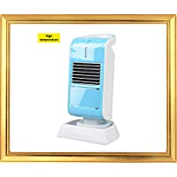 Heater for Office or Personal Use By Lifeidea, Angle Adjustable, Tip Over and Automatic Overheat Protection (blue)
