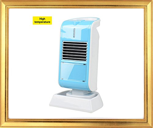 Heater for Office or Personal Use By Lifeidea, Angle Adjustable, Tip Over and Automatic Overheat Protection (blue) Ceramic Heaters
