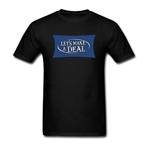 XIULUAN Men's Let's Arrange A Deal Logo T-shirt Size XXXL ColorName Short Sleeve