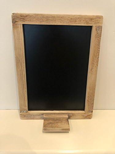 #10357 Memoboard memotafel craie tableau noir xl NEUF shabby chic maison de campagne cadre photo