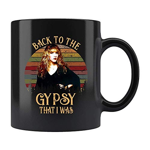 cb7ce10c Back To The Gypsy That I Was Gypsy Mug - Retro Vintage shirt - Stevie Nicks