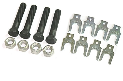 - Compatible With 1964-1981 all GM Models Upper Control Arm Cross Shaft Bolts Nuts Shims Kit NOS R (C-8-11 + C-7-10)