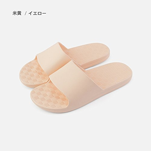 Your Bathroom Couple of Slippers 37 Home Slip Cool B Men Summer Slippers Living 38 Female S Anti Yellow Bath fankou Room Stay Light fEOwgqqx