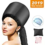 Bonnet Hood Hair Dryer Attachment, ProCIV Soft Bonnet Hooded Hair...