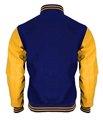 Red amp; Blue Yellow Uomo Giacca Smoke r0Iqwf1r