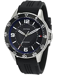 Mens 1790835 Sport Stainless Steel case and black silicon strap Watch