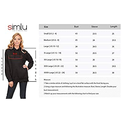 Simlu Fleece Pullover Hoodies Oversized Sweater Reg and Plus Size Sweatshirts: Clothing