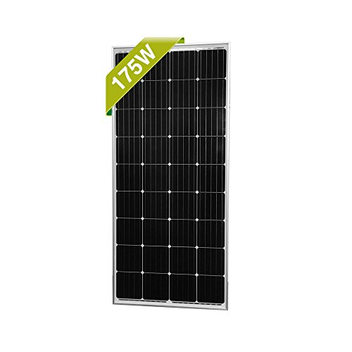 Newpowa 160/175 Watts 12 Volts Moncrystalline/Polycrystalline Solar Panel High Efficiency Module (175 Watt Mono) (Solar Panel 240w)