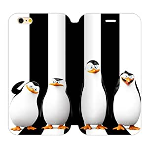 Cute Penguins Custom Cover Case for iPhone6 Plus 5.5