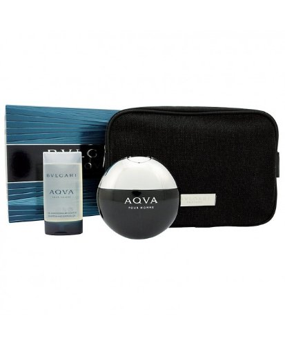 Bvlgari Aqva Pour Homme 2 Pc Set with 1.7 Oz Eau De Toilette Spry and 2.5 Oz Shampoo and Shower Gel (Set Pour Fragrance Homme Ii)