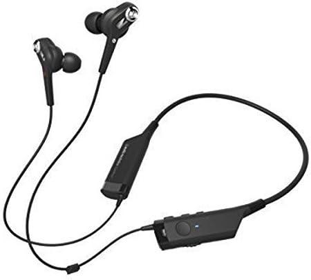 Audio-Technica ATH-ANC40BT QuietPoint Banda para Cuello Binaurale Alámbrico Negro - Auriculares (Binaurale, Banda para Cuello, Negro, Digital, 10 MW, Universal)