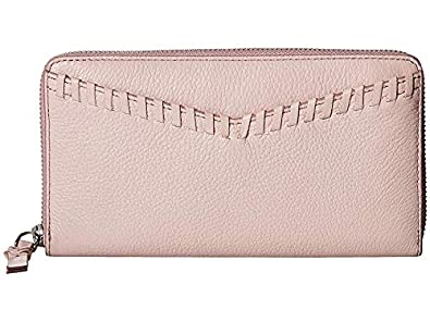 a745116368cd Amazon.com: Fossil Women's RFID Caroline Large Zip Burnished Lilac ...