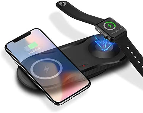 2 in 1 Qi Wireless Charger for Airpods