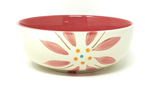 Pink Coupe Cereal Bowl (Temp-tations Stoneware Soup / Cereal Bowl Replacement Piece (Vivid Old World Hot Pink))