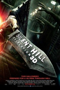 Silent Hill Revelation 3D - 11'X17' Original Promo Movie Poster Horror 3D