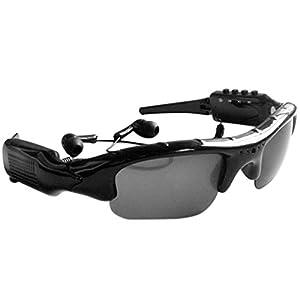 Goodaa Sunglasses 4 in 1 MP3 Player DVR Mini Camera Camcorder Video Recorder Support Micro SD Card