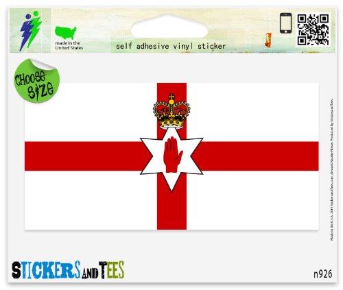 Northern Ireland Irish Flag Vinyl Car Bumper Window Sticker 3