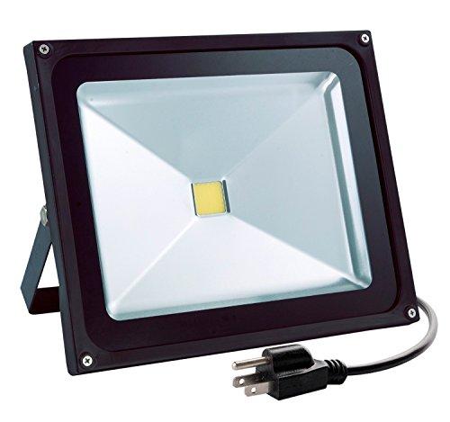 White Outdoor Garage Lights - 2