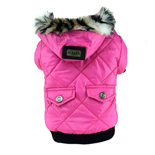(Jim Hugh Dogs Clothes Down Jacket French Bulldog Dog Coat Pet Costume Winter Warm Outwear)