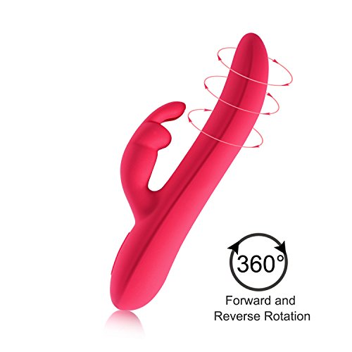 Wireless Handheld 360 Degrees Rotating Wand Massager, 10 Silent Vibration Modes and Skin-Friendly Silicone, USB Rechargeable Massager - Waterproof