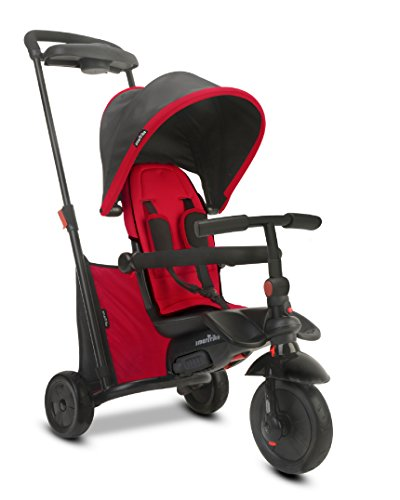 smarTrike Smartfold 500 Baby Tricycle, Red