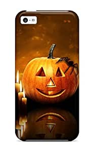 New Halloween Pumpkin Candles Tpu Case Cover, Anti-scratch GLThtIv7545PcDCA Phone Case For Iphone 6(4.7)
