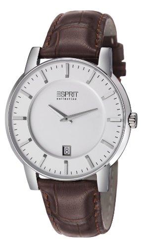 Esprit EL101841F02 Mens White Brown Aether Watch