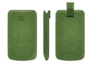 Katinkas 600953 Premium Leather Case for Samsung Galaxy i5500/i5508 Creased - 1 Pack - Retail-Packaging - Green