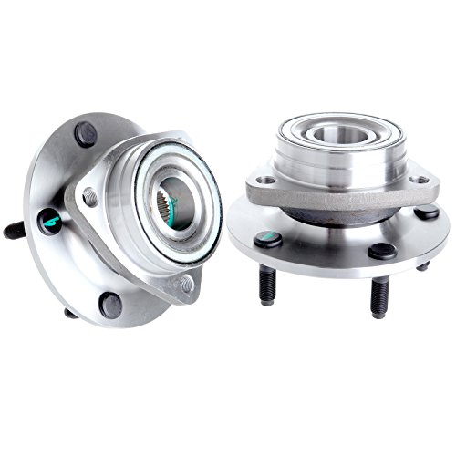 SCITOO New Front Wheel Hubs Bearings Pair Set of 2 fits 1994-1999 Dodge Ram 1500 4WD 4x4 515006 X ()