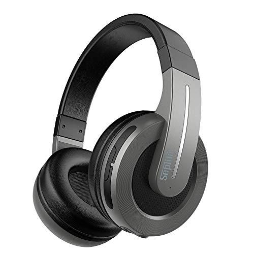 Sephia S6 Over Ear Wireless Bluetooth Headphones for iPhone, Ipad, iPod, Smartphones, Laptops, Tablets and Computers (Best Wireless Headphones For Ipad)