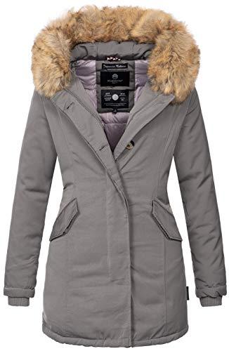 Invernale – Foderato Marikoo Grau Caldo Donna B362 Da Giaccone Parka E wSpOfYpq