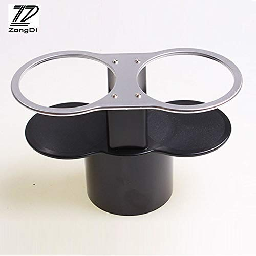 ZD 1Pc Car Water Cup Holder Double Mouth for BMW E39 E90 E60 E36 F30 F10 E34 E30 Mini Cooper Audi A4 B8 A3 A6 C6 Q5 A5 2017