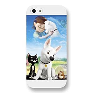 Diy White Frosted Disney Cartoon Movie Bolt Diy For SamSung Note 4 Case Cover