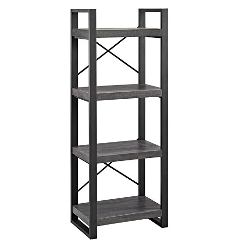 WE Furniture W62CGMTCL Storage Media Tower 62