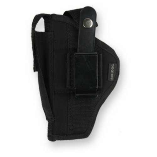 Pistol Glock Barrels - Bulldog Cases Belt and Clip Ambi Holster FSN-7 (Fits Most Standard Auto's with 2 - 4-Inch Barrels, Glock 17,19)
