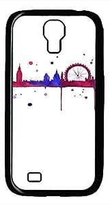 Samsung Galaxy S4 I9500 Black Hard Case - City Ferris Wheel Galaxy S4 Cases